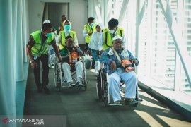 454 Jamaah haji kloter pertama tiba di Balikpapan