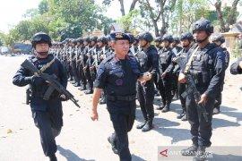 250 Personil Brimob Jambi di BKO ke Papua