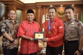 Tiga pebulutangkis Jabar raih medali emas kejuaraan dunia Para-Badminton 2019