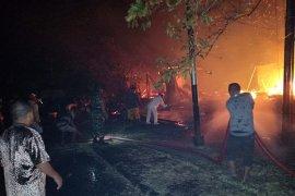Polisi selidiki penyebab kebakaran asrama mahasiswa Unidar