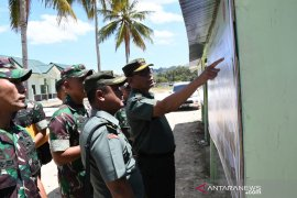 Tim Mabes TNI-AD tinjau bangunan Korem Gorontalo