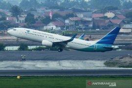 Garuda mendarat kembali di Kualanamu setelah terbang 39 menit