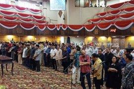 120 anggota DPRD Jatim dilantik Sabtu besok