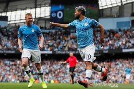 City menang telak 4-0 atas Brighton