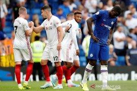 Akibat gol bunuh diri Zouma, Chelsea VS Sheffield imbang 2-2