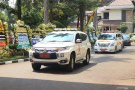 Jenazah ibunda SBY diberangkatkan ke TPU Tanah Kusir