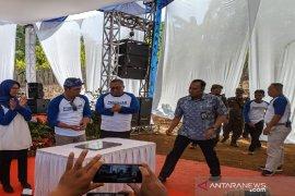 Gubernur Jawa Barat resmikan bendungan Leuwisapi Sukabumi