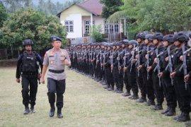 Polda Maluku Utara siagakan lima SSK Brimob ke Papua