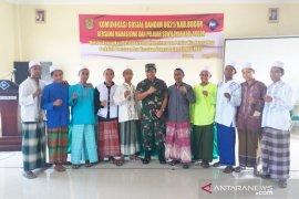 Kodim 0621 Bogor beri materi kebangsaan kepada mahasiswa dan santri
