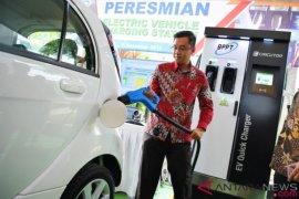 Mobil listrik merupakan masa depan industri otomotif Indonesia