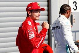 Charles Leclerc raih start terdepan balapan F1 di GP Belgia