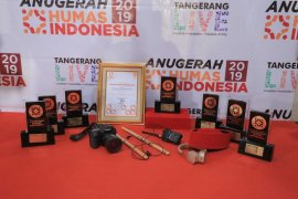 Delapan penghargaan Anugerah Humas indonesia diraih Kota Tangerang