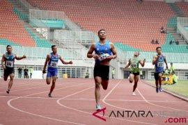 Zohri pertajam rekornya sendiri pada final 200 meter