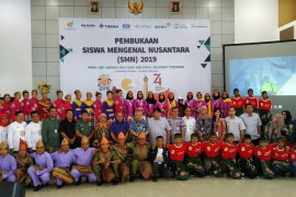 Antara TV - Pembukaan Siswa Mengenal Nusantara di Bangka Belitung