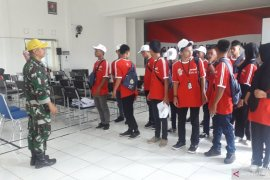 Peserta SMN Mulai Digembleng di Makorem 045/Garuda Jaya Bangka (Video)