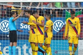 Barcelona ditahan imbang Osasuna 2-2
