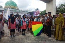 Pawai busana muslim meriahkan Tahun Baru Islam di Nagan Raya