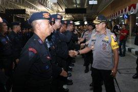 Papua Terkini - 180 personel Brimob Polda Kalbar dikirim  ke Papua