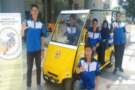 ULM pakai mobil listrik ciptaan sendiri di kampus