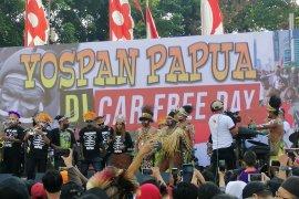 Warga Papua di Jakarta gelar musik dan tarian Yospan Papua jalin persatuan bangsa