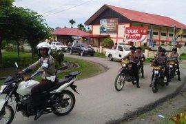 Papua Terkini - Ciptakan situasi kondusif, Polres Waropen gelar patroli