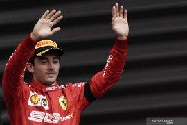 Charles Leclerc dedikasikan kemenangan di GP Belgia untuk mendiang Hubert