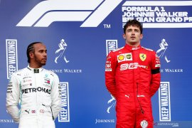 Leclerc akhiri puasa kemenangan Ferrari