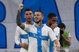 Marseille lanjutkan tren positif, menang tipis atas  Saint-Etienne