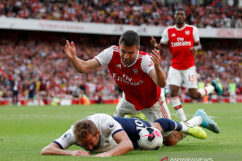 Hasil imbang 2-2, Arsenal dan Tottenham berbagi satu poin