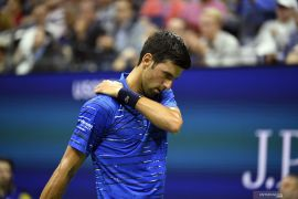 Djokovic jajal Sumo sebelum  bertanding di Japan Open