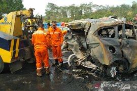 Kapolda Jabar sebut 21 kendaraan terlibat kecelakaan maut Cipularang