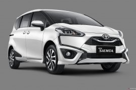 Toyota diam-diam segarkan tampilan Sienta