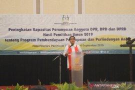 Jumlah perempuan jadi anggota DPR/DPD bertambah