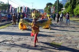 Parade budaya paguyuban di Ternate ramaikan ICCF