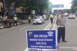 2.698 kendaraan ditilang pada hari kelima Operasi Toba di Sumut