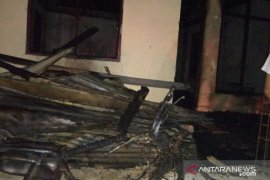 Satu unit rumah hangus dilalap si jago merah di Aceh Besar