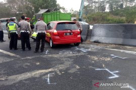 Untuk kelancaran selama olah TKP kecelakaan muat, Tol Cipularang terapkan contraflow