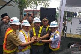 Pembangunan jalan layang di Kota Bandung resmi dimulai