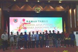 Gubernur Kalsel jamu peserta liga futsal Nusantara