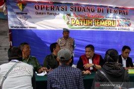 Polresta Sidoarjo terapkan sidang di tempat selama Operasi Patuh Semeru