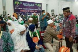 Jamaah haji tertua asal Simalungun meninggal dalam perjalanan pulang