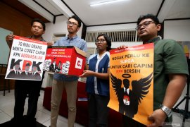 Gerakan Kalbar peduli KPK tolak Sepuluh nama Capim KPK