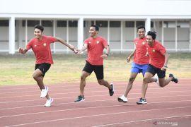 Tim estafet putra tak pasang target di SEA Games 2019