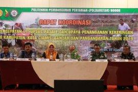 Polbangtan Bogor gelar rakor LTT Pajale penanganan kekeringan