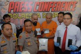 Dua warga India  miliki 3.000 gram sabu ditangkap