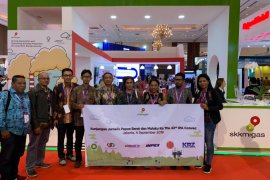 Jurnalis Papua Barat dan Maluku Kunjungi The 43rd IPA Convex 2019