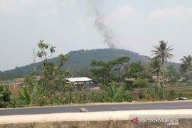 Kebakaran hutan Gunung Sunda Sukabumi capai 10 hektare