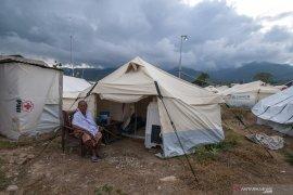 Ratusan KK korban gempa masih tinggal di tenda darurat