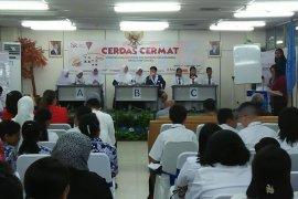 Lomba cerdas cermat OJK Maluku dorong gerakan pelajar menabung