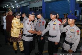 Brimob Polda Sumsel kembali kirim ke Papua